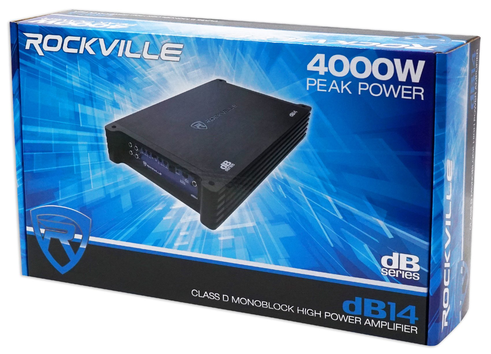 Rockville dB14 4000 Watt/2000w RMS Mono Class D 2 Ohm Amplifier Car Audio Amp by Rockville (Image #8)