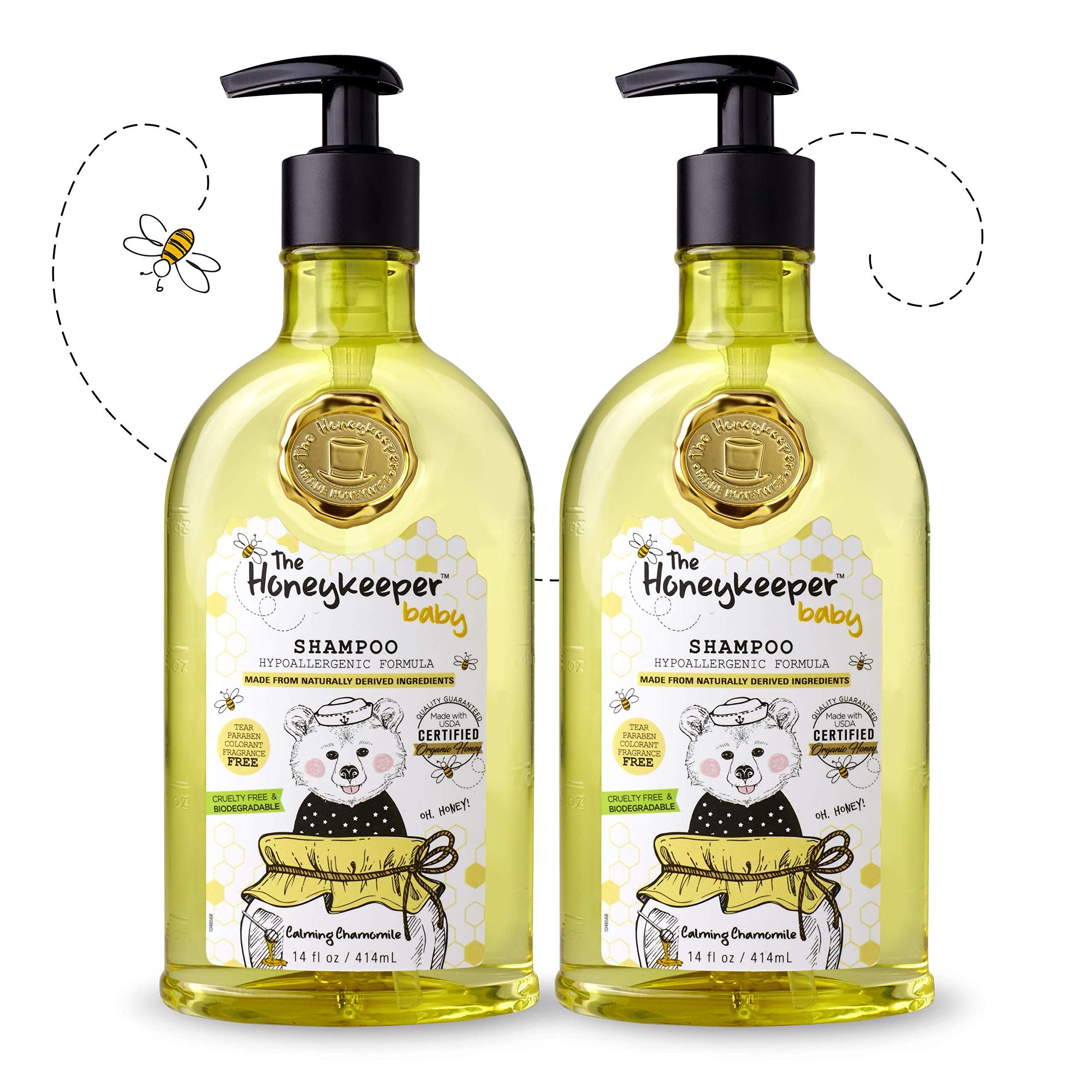 Honeykeeper Baby Shampoo Calming Chamomile, 14 fl.oz. 2pk by The Honeykeeper