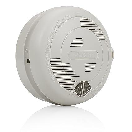 Smartwares RM230 Alarma de Humo conectable por Cable (230 V), 9 V,