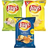 Lays potato chips American style cream and onion flavour 95 gm+ Classic salted 95 gm+Magic masala 95 gm