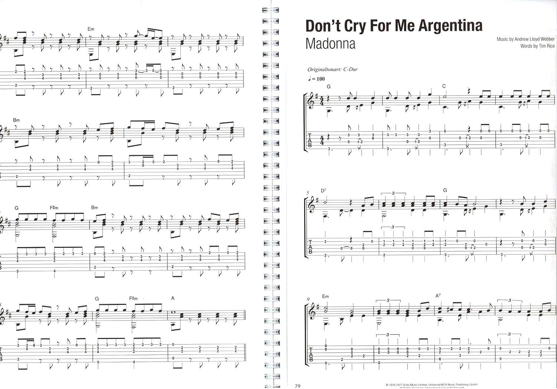 Libro de guitarra XXL – 50 Charthits and Klassiker – Songbook para ...