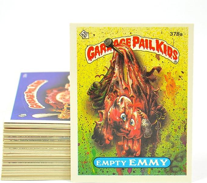 1987 SERIES 9 TOPPS GPK GARBAGE PAIL KIDS 371a GRIPPIN/' GRIFFIN