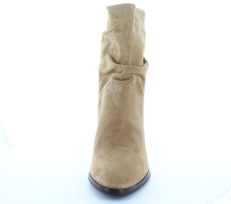 HÖGL Damen Stiefelette 4-116512-1400 Hohe Schaft Blockabsatz Velourleder Taupe Taupe Taupe (Cashmere) 200639