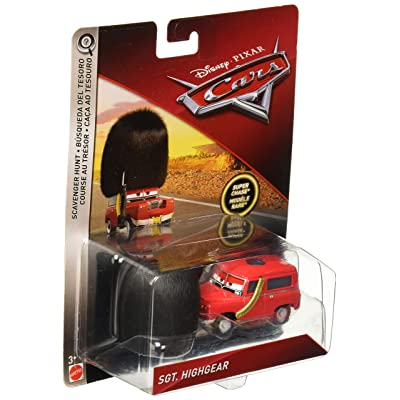 Disney Pixar Cars Sgt. Highgear Oversized Die-cast Vehicle: Toys & Games