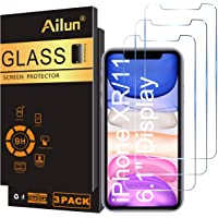 Ailun Glass Screen Protector for iPhone 11/iPhone XR 6.1 Inch 3 Pack Tempered Glass Screen Protector for Apple iPhone 11…