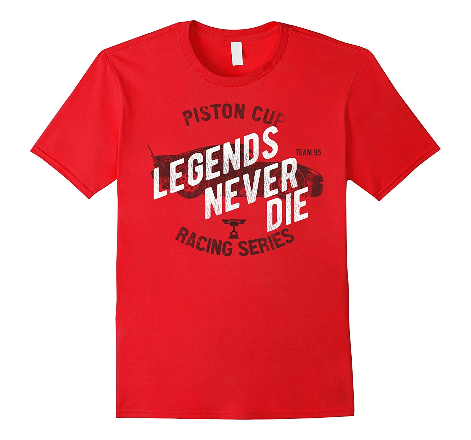 Disney Pixar Cars 3 Legends Never Die Graphic T-Shirt-PL