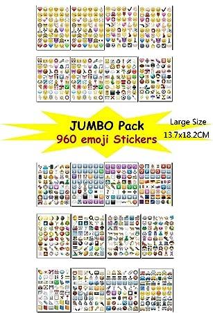 Bestag emoji sticker pack instagramfacebooktwitter iphone emoji sticker 20sheets