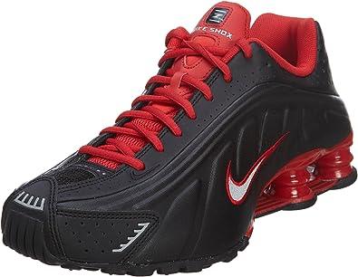 NIKE104265-063 - Nike Men's Shox R4, Negro/Rojo, 104265-063 ...
