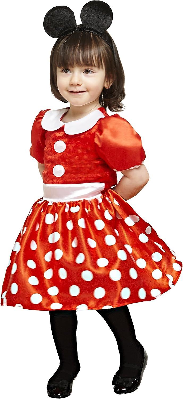 Travis X de dcmin de drrg06 Disfraz para Niños Minnie, Rojo, 68 ...