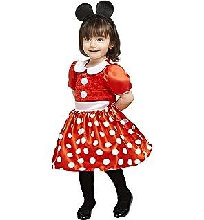 Travis X de dcmin de drrg18 Disfraz para Niños Minnie, Rojo, 86 ...
