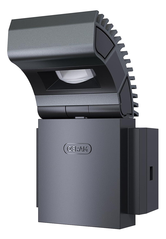 Osram LED-Spot, Noxlite, Außenlampe, Außenstrahler 60° schwenkbar und 70 ° kippbar, Bewegungsmelder, Dämmerungssensor, weiß, Kaltweiß - 6000K Ledvance 4008321998385