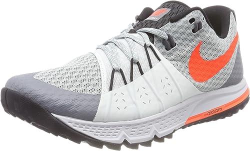 Nike Wmns Air Zoom Wildhorse 4, Zapatillas de Running para Mujer, Gris (Piedra Pómez Claro/Gris Ligero/Negro/Carmesí Total 004), 40 EU: Amazon.es: Zapatos y complementos
