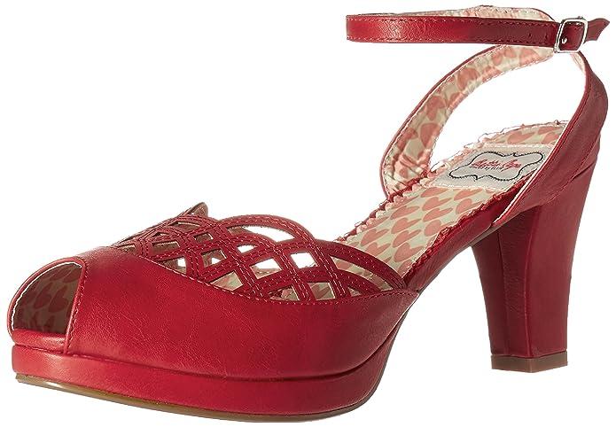 Shop Pin Up Shoes Bettie Page Womens Bp303-Darla Platform Dress Sandal  AT vintagedancer.com