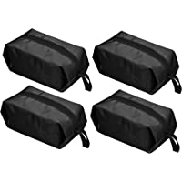 MyLifeUNIT Waterproof Shoe Bags, Travel Shoe Bags with Zipper, Set of 4