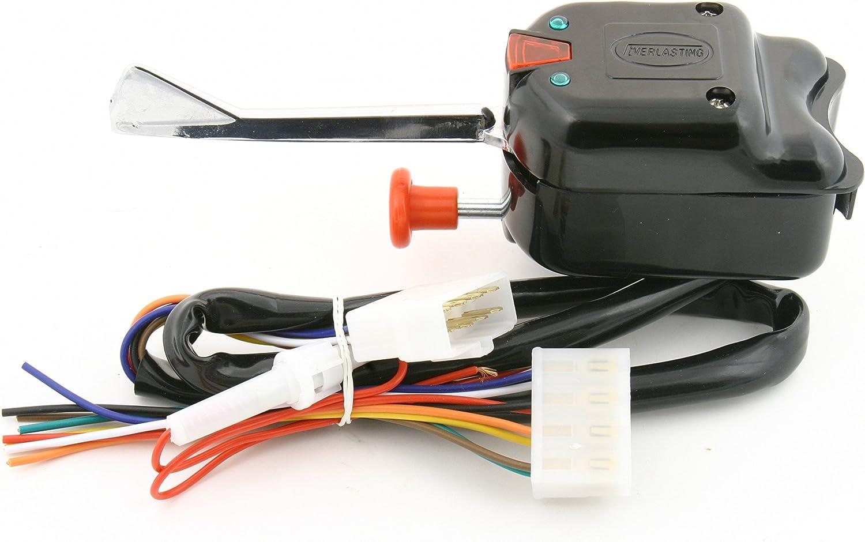 wiring diagram 1991 club car golf cart amazon com new golf cart black turn signal switch club car ez go  new golf cart black turn signal switch