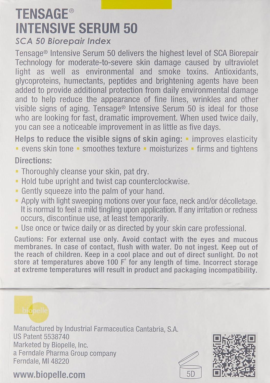 Amazon.com: Biopelle Tensage Intensive Serum 50, 10ct ...