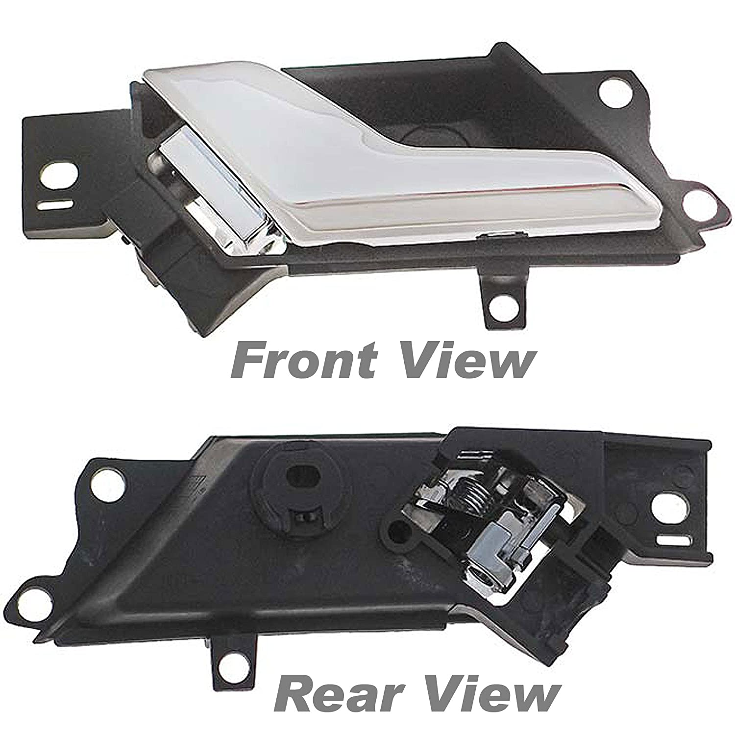 Replaces 96861998, 96660863, 20983660, 20983673 APDTY 93766 Interior Door Handle Fits Driver-Side Left Front or Rear Compatible With 2012-2015 Chevrolet Captiva Sport or 2008-2010 Saturn Vue