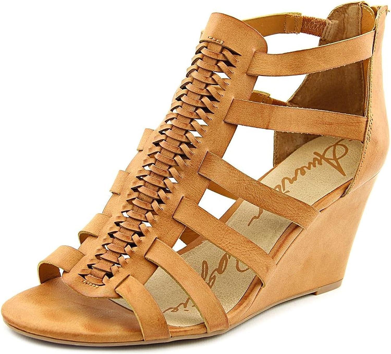 Size 6.0 American Rag Womens Amelia Open Toe Casual Platform Sandals Natural