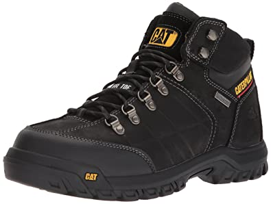 Caterpillar Men's Threshold Waterproof Steel Toe Industrial Boot Black