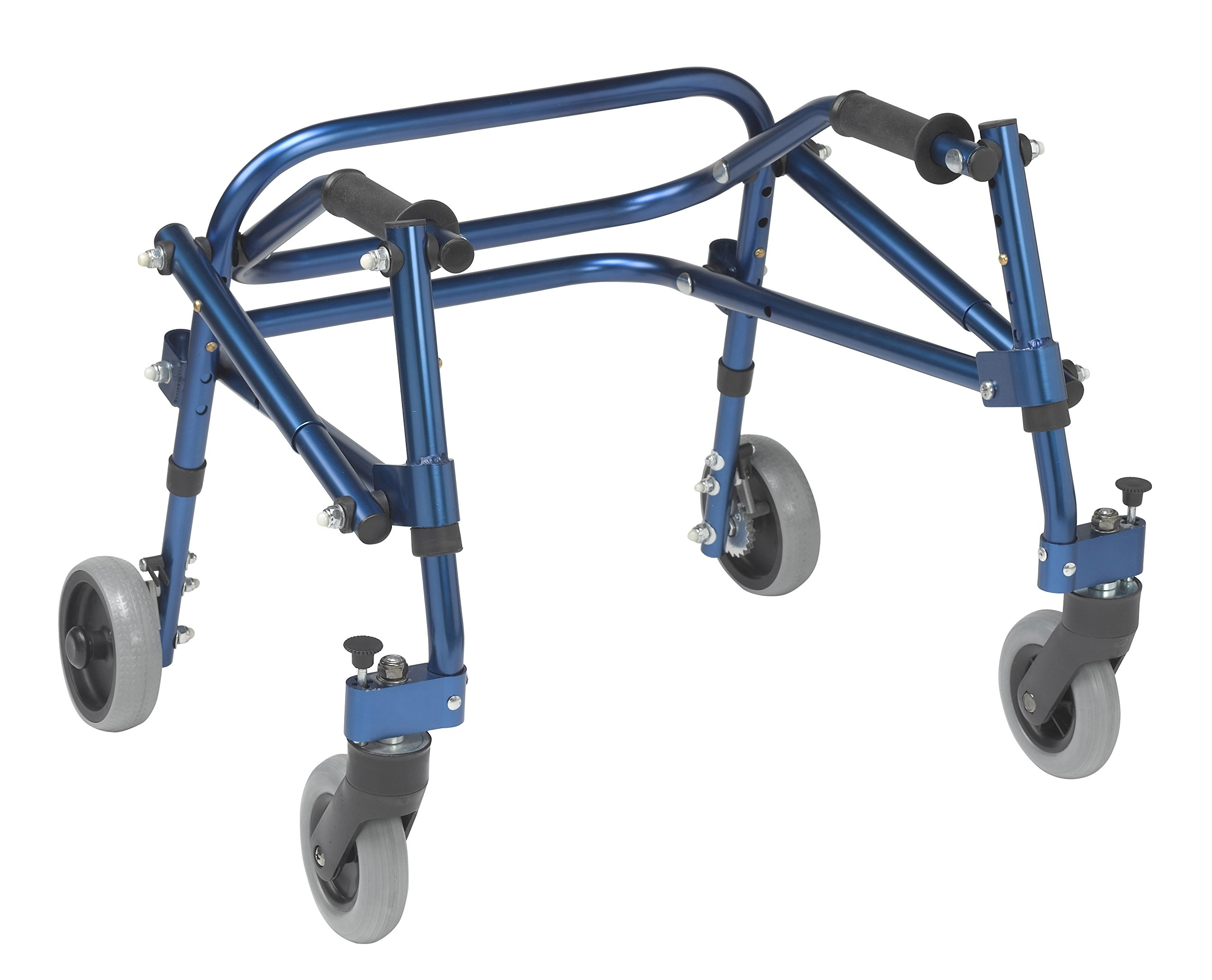 Inspired by Drive Nimbo 2G Lightweight Posterior Walker, Knight Blue, Extra Small