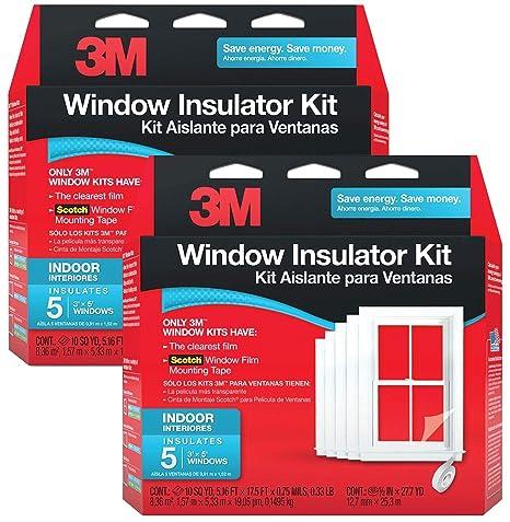 3M 2141BW-6 Indoor Window Insulator Kit 10-Window