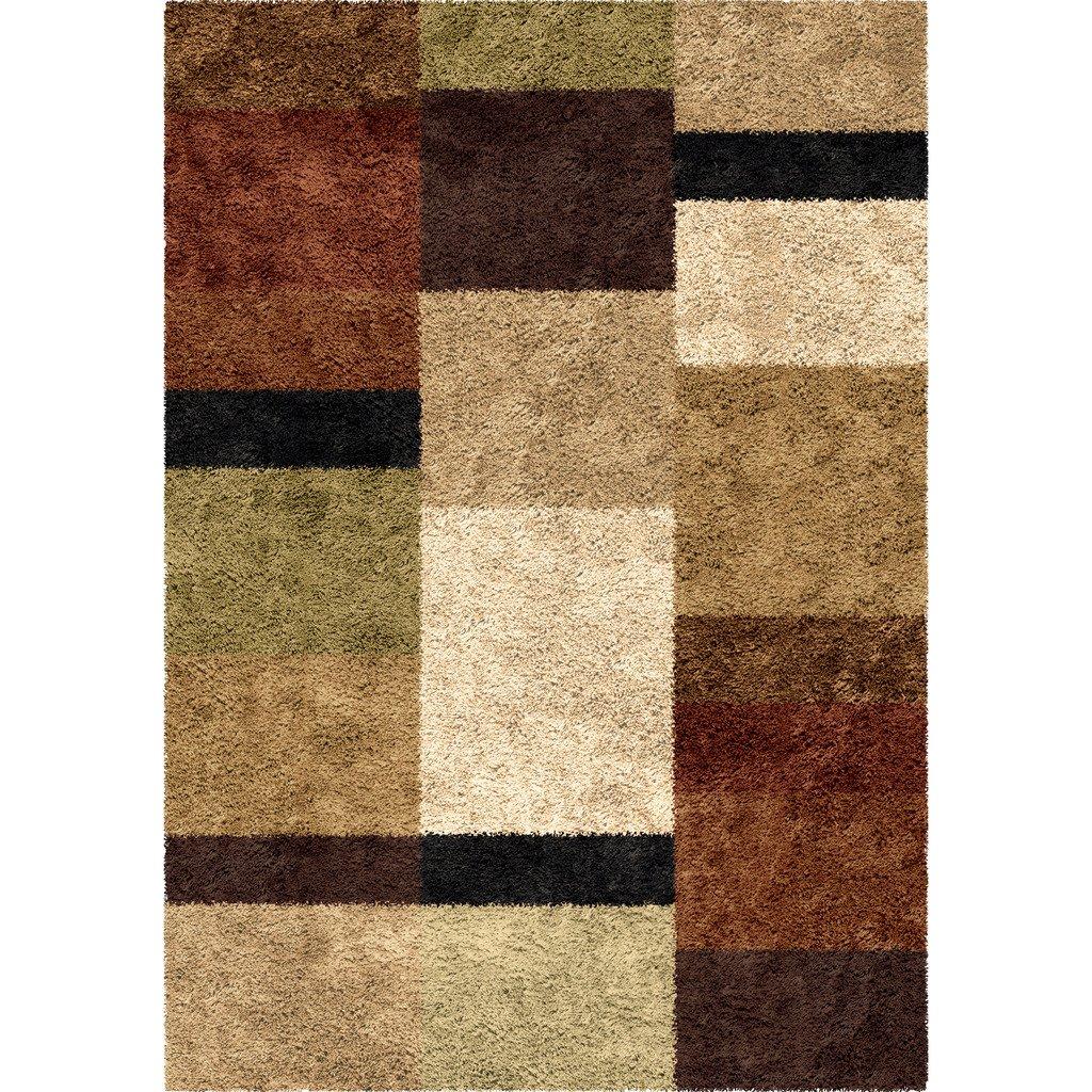 amazoncom orian rugs geometric treasure box brown area rug ('  - amazoncom orian rugs geometric treasure box brown area rug (' x ')kitchen  dining