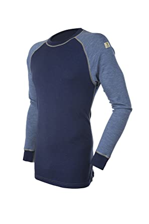 fa7751c0 Janus 100% Merino Wool Men's Underwear Long Sleeve T-Shirt Made in Norway  at Amazon Men's Clothing store: