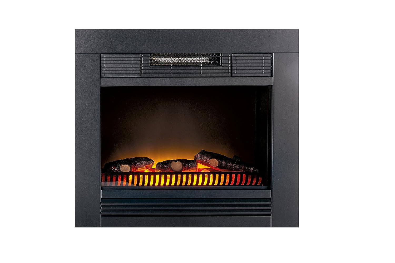 Classic Fire Chicago Calefactor eléctrico con iluminación led