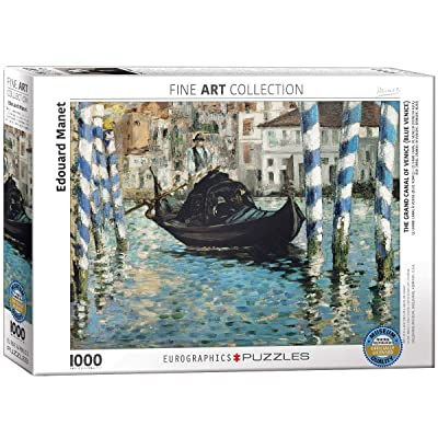 EuroGraphics Grand Canal of Venice by Edouard Magnet (1000 Piece) Puzzle: Toys & Games