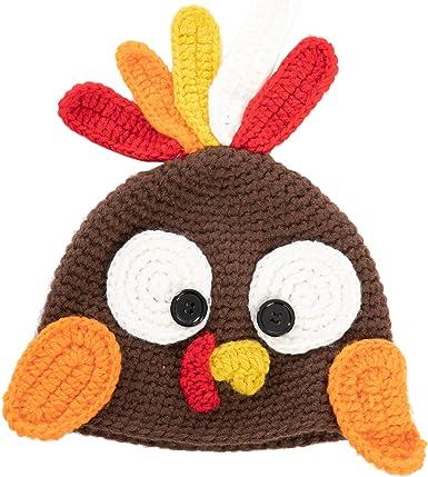 Crochet Baby Photo Prop Set Baby Animal Photo Prop Set Thanksgiving Baby Photo Prop Baby Turkey Hat Crochet Baby Turkey