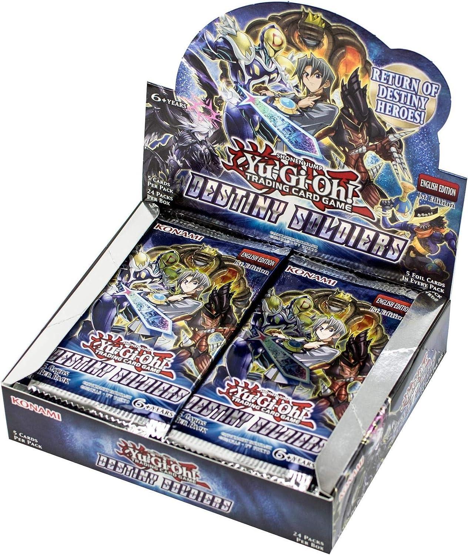 YU-GI-OH!. 14494 Destino Soldados Booster Display Box (Pack de 24): Amazon.es: Juguetes y juegos