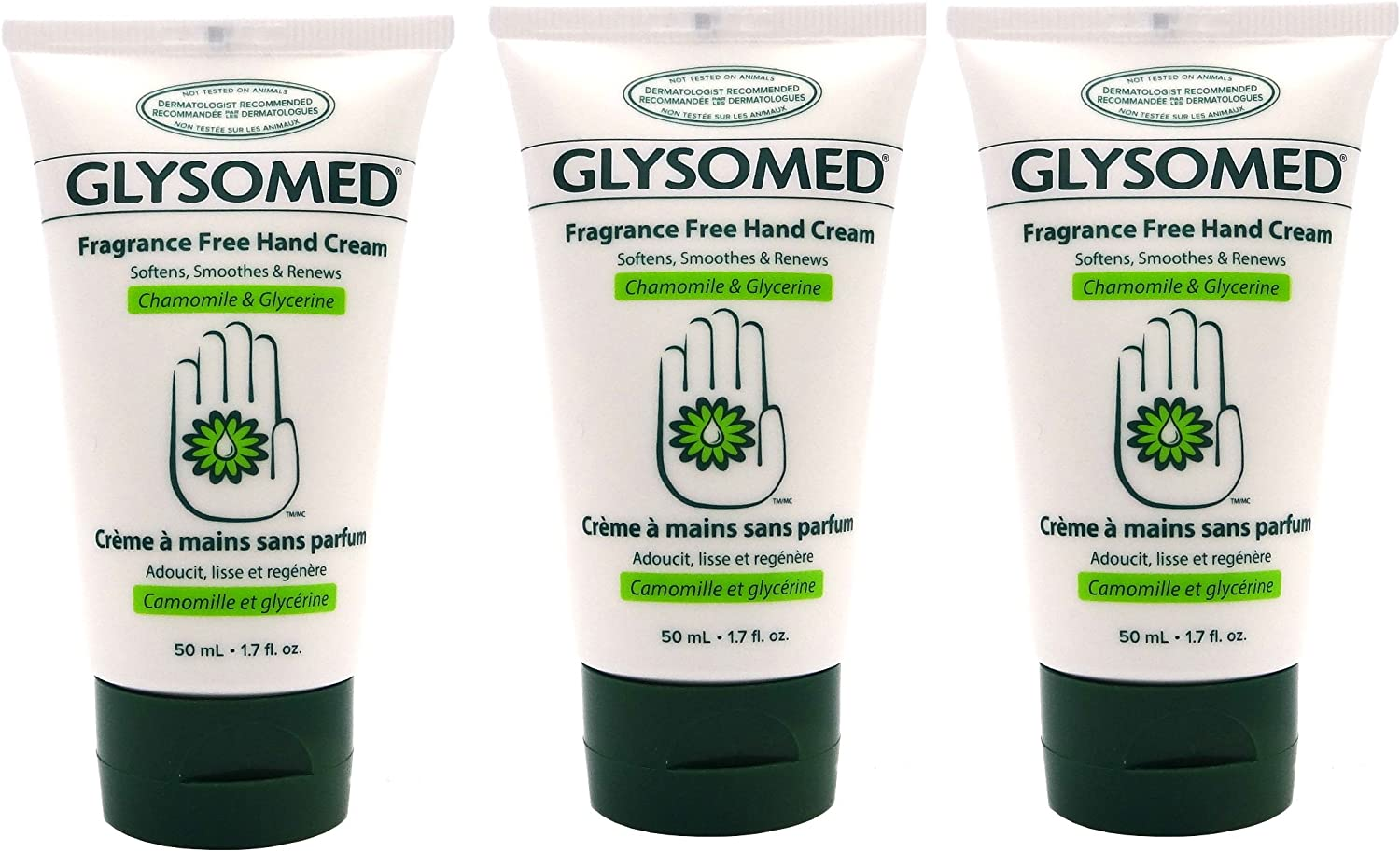 Glysomed Chamomile Hand Cream, 50ml Travel Size (Soothe