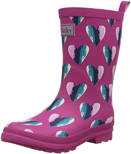 a151ddf9dbb4 Hatley Girl s Printed Wellington Rain Boots  Amazon.co.uk  Shoes   Bags