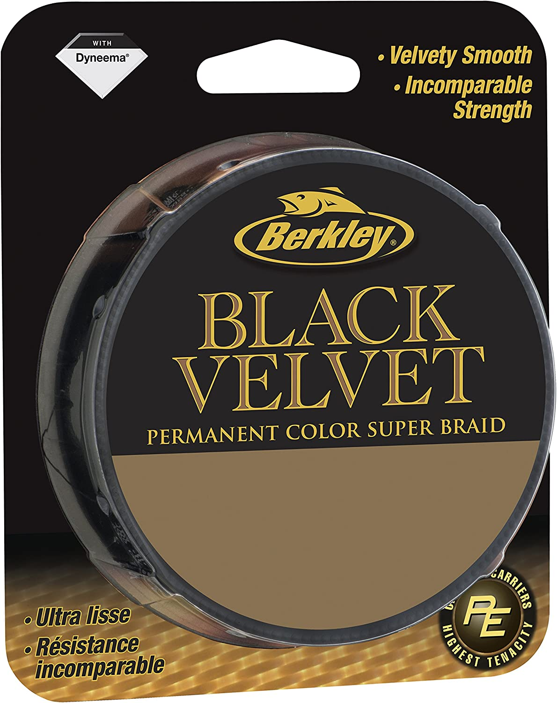 TRESSE BERKLEY BLACK VELVET Mod/èle 110m 0.10mm