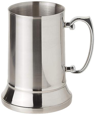 Maxam Stainless Steel Beer Glass