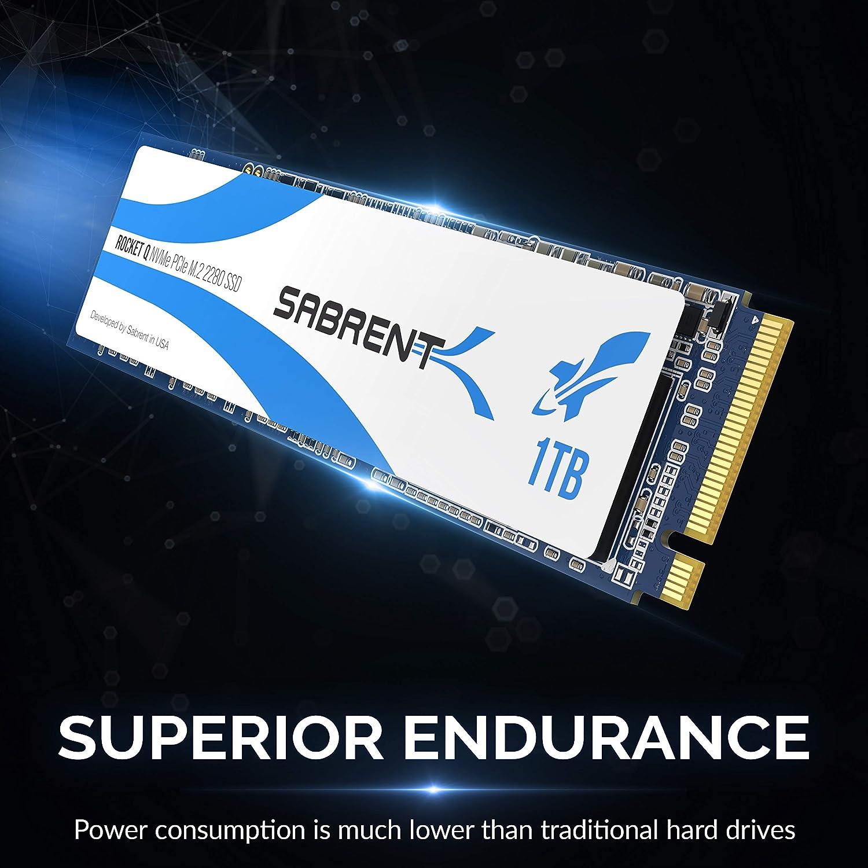 Sabrent Rocket Q 1TB NVMe PCIe M.2 2280 Unidad de Estado sólido ...