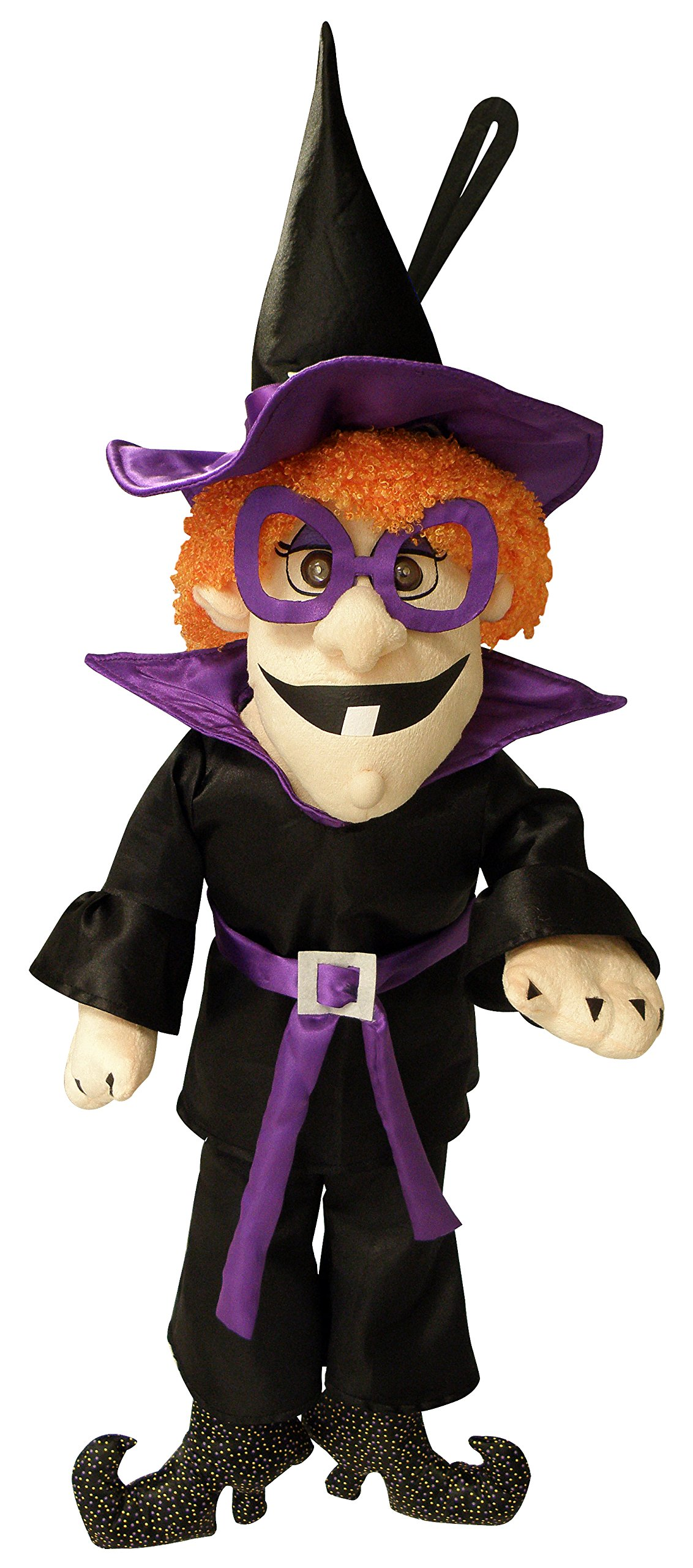 Chantilly Lane 30'' Boogie Witch is Sound Activated Dancing Door Hanger Sings I Love The Nightlife Plush Toy by Chantilly Lane