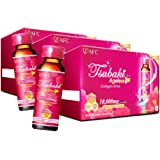 AFC Japan Tsubaki Ageless Beauty Collagen Drink from Japan with 10,000mg Marine Collagen Peptides + 500mg Royal Jelly + Hyalu