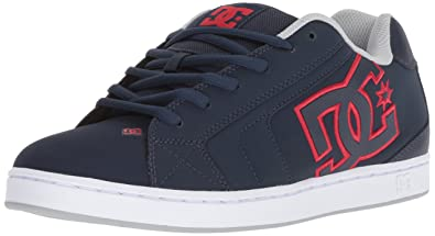Net DC Lowtop Chaussures, 52, Navy/Red