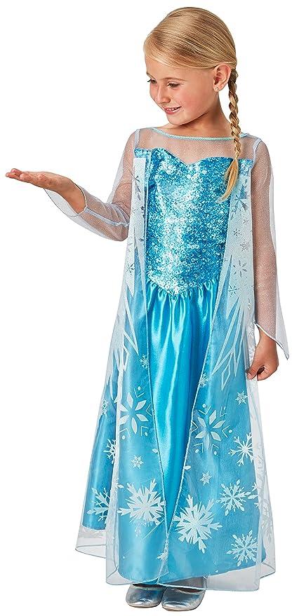 Frozen - Disfraz Elsa classic infantil, talla M (Rubie's Spain 620975-M):  Amazon.es: Juguetes y juegos