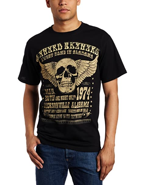 3b539aeb FEA Merchandising Men's Lynyrd Skynyrd Alabama 74 T-Shirt: Amazon.in:  Clothing & Accessories