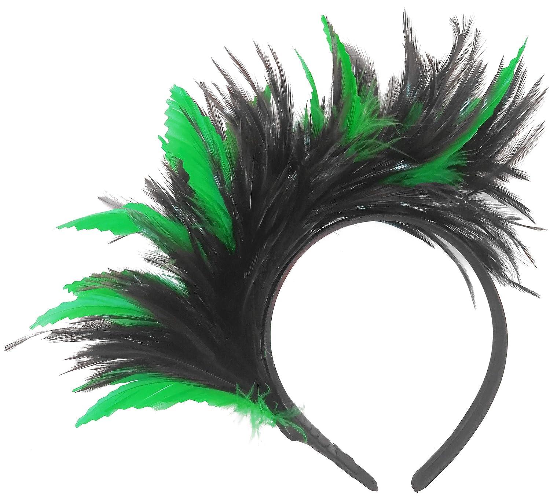 Wedding Fascinator Hats for Girls Tea Party Headband Kentucky Derby Fascinators Cocktail Feather Headwear for Women