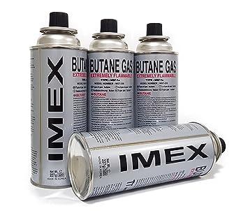 Cartuchos de gas de Imex