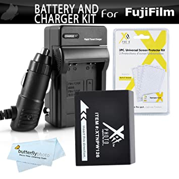 Amazon.com: Kit de Cargador para Batería y para Fuji ...
