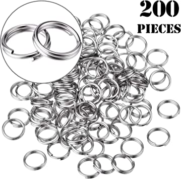 10mm or 12mm Silver plated lobster clasp sets with strong 7 /& 5mm jump rings