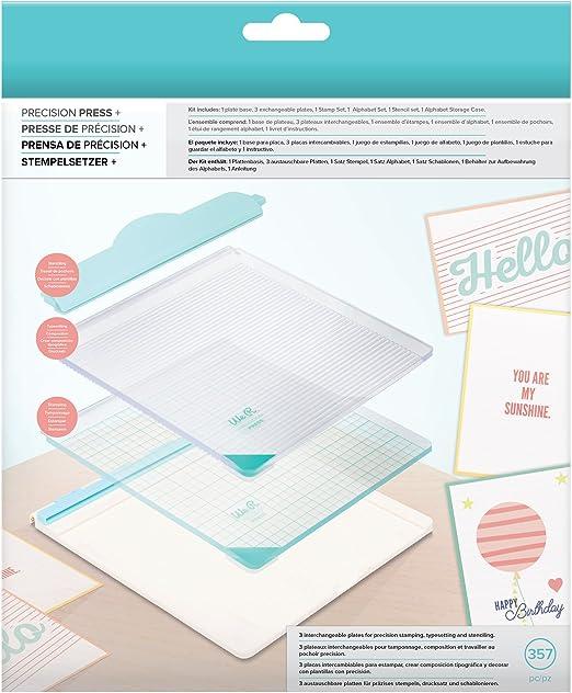 We R Memory Keepers Prensa de Precisión, Multicolor, 22x20.8x4.7 cm: Amazon.es: Hogar