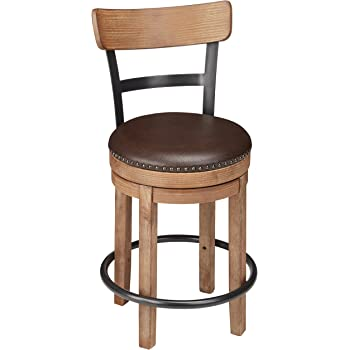 Amazon Com Winsome Wood 30 Inch Windsor Swivel Seat Bar