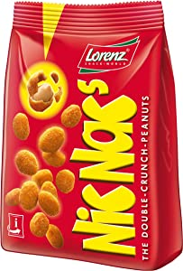 Lorenz Nic Nac's Double Crunch Peanuts 125g