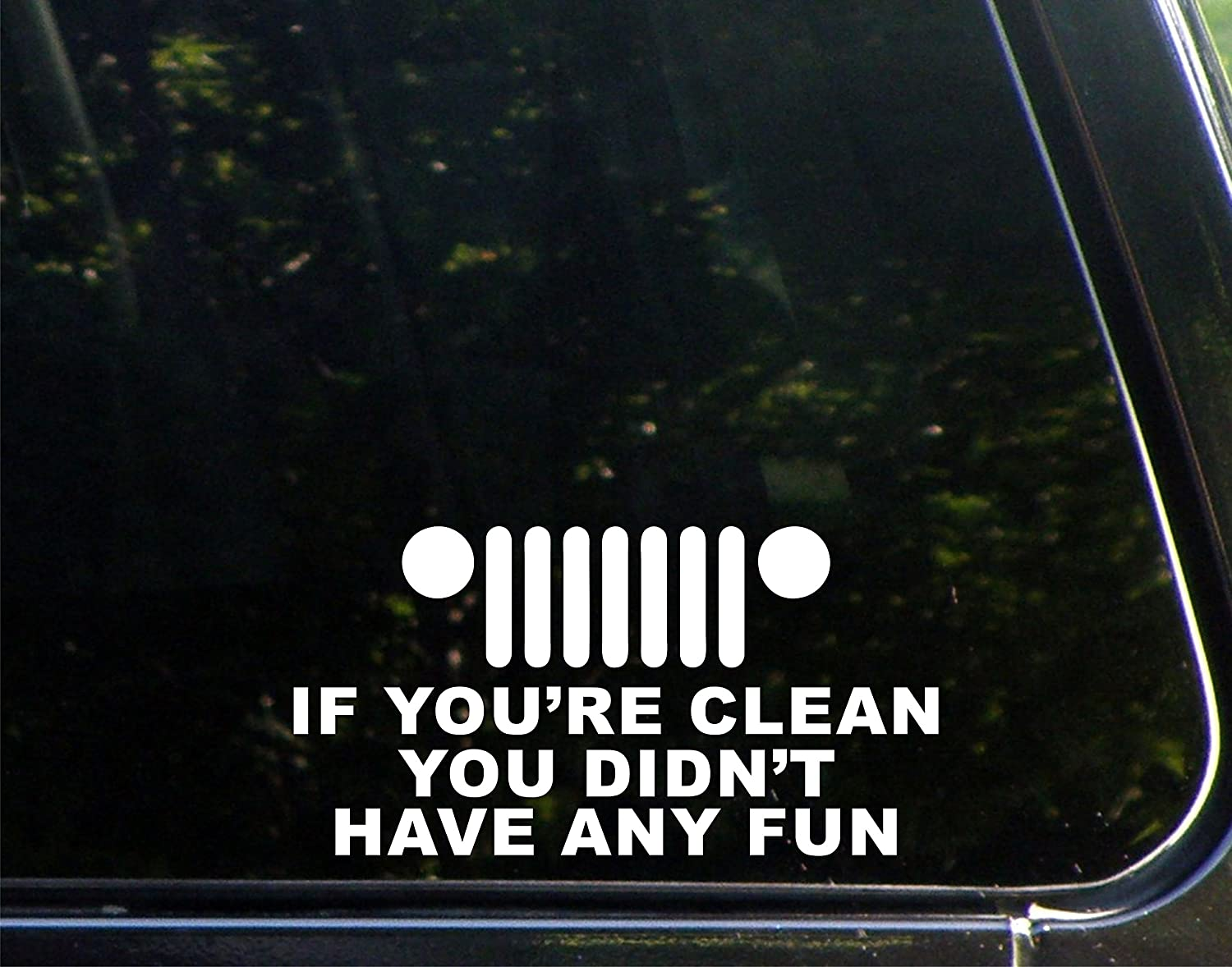 Outdoors Funny Decal for Car F It Decal etc. Windows