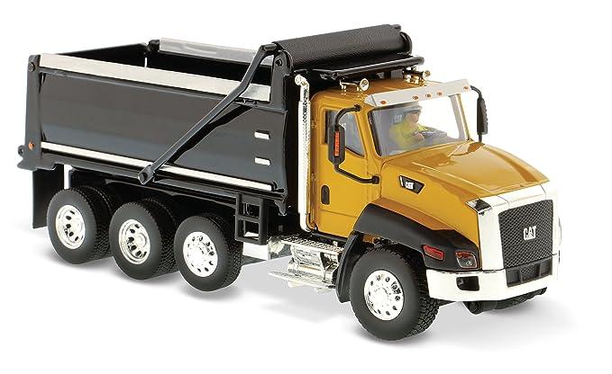 Amazon.com: Caterpillar CT660 Dump Truck Yellow Core Classics Series ...